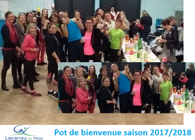 Pot bienvenue 2017